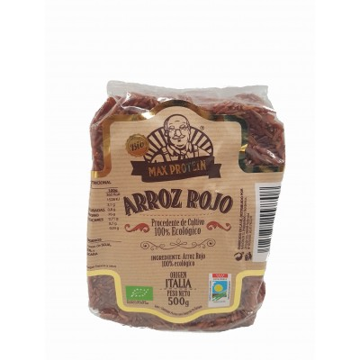 Comprar Semillas y Cereales MAX PROTEIN BIO - ARROZ ROJO SALVAJE 500GR marca Max Protein Bio. Precio 4,29€