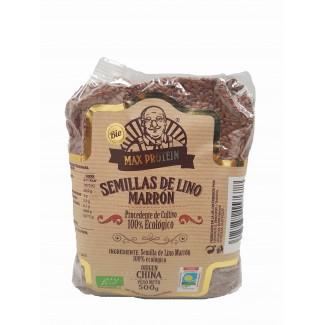 Comprar Semillas y Cereales MAX PROTEIN BIO - SEMILLAS DE LINO MARRÓN 500 GR marca Max Protein Bio. Precio 3,64€