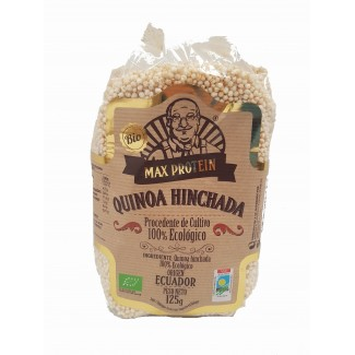 Comprar Semillas y Cereales MAX PROTEIN BIO - QUINOA HINCHADA 125 GR marca Max Protein Bio. Precio 4,29€