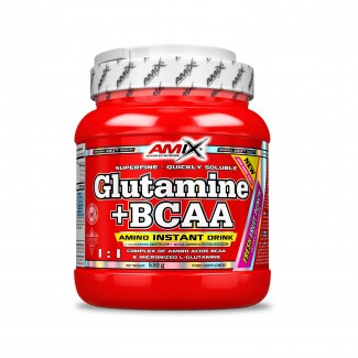 Comprar Glutamina + BCAA´S AMIX - GLUTAMINA + BCAA 530 GR marca Amix ® Nutrition. Precio 34,50€