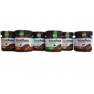 Comprar Cremas y Mantequillas BIOBÉTICA - BIOCHOC CREMA DE CACAO CON SABORES 200 GR marca BioBética. Precio 4,09€