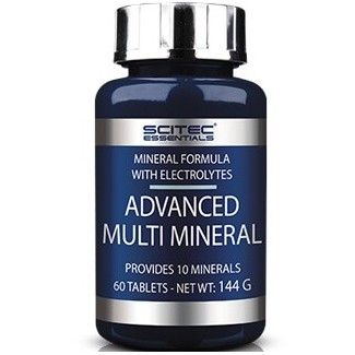 Comprar Isotónicos y Sales SCITEC ESSENTIALS - ADVANCED MULTI MINERAL 60 TABS marca Scitec Nutrition. Precio 5,81 €