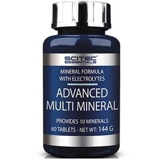 Comprar Isotónicos y Sales SCITEC ESSENTIALS - ADVANCED MULTI MINERAL 60 TABS marca Scitec Nutrition. Precio 5,81€