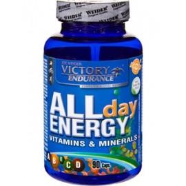 Comprar Vitaminas VICTORY ENDURANCE - ALL DAY ENERGY - MULTIVITAMINICO 90 CAPS marca Victory Endurance. Precio 9,49€