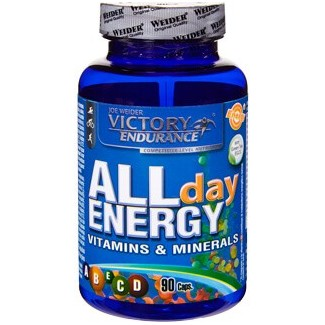 Comprar Vitaminas VICTORY ENDURANCE - ALL DAY ENERGY - MULTIVITAMINICO 90 CAPS marca Victory Endurance. Precio 9,49 €