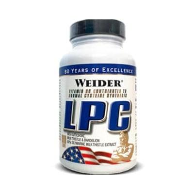 Comprar Post-Entrenos WEIDER - LPC (PROTECTOR HEPÁTICO) - 90 CAPS marca Weider. Precio 19,49€