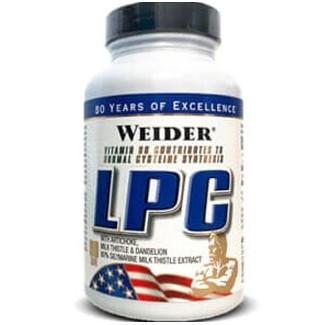 Comprar Post-Entrenos WEIDER - LPC (PROTECTOR HEPÁTICO) - 90 CAPS marca Weider. Precio 18,60€