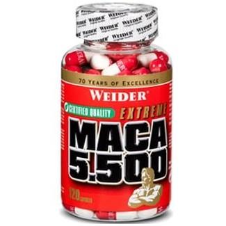 Comprar Vitaminas WEIDER - MACA 5.500 - 120 CAPS marca Weider. Precio 32,99€
