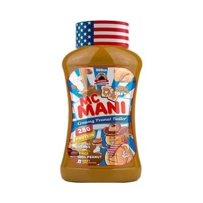 Comprar Cremas y Mantequillas MAX PROTEIN - McMANI - CREMA DE CACAHUETE 500 GR marca Max Protein. Precio 8,93€