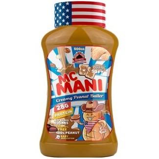 Comprar Cremas y Mantequillas MAX PROTEIN - McMANI - CREMA DE CACAHUETE 500 GR marca Max Protein. Precio 8,50€