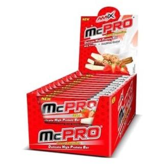 Comprar Barritas de Proteína AMIX - McPRO PROTEIN BAR 24 * 35 GR marca Amix ® Nutrition. Precio 27,60€