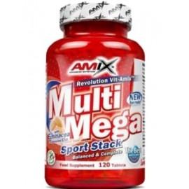 Comprar Vitaminas AMIX - MULTI MEGASTACK - MULTIVITAMINICO 120 TABS marca Amix ® Nutrition. Precio 23,50€