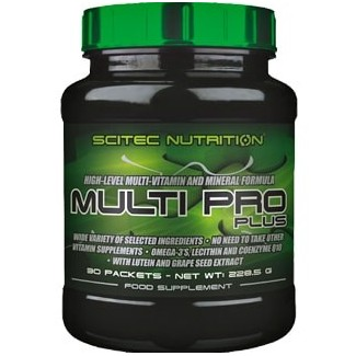 Comprar Vitaminas SCITEC - MULTI PRO PLUS - MULTIVITAMÍNICO 30 PACKS marca Scitec Nutrition. Precio 14,25€