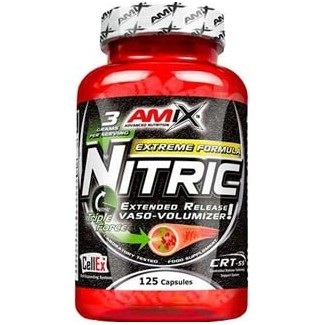 Comprar Voluminizadores AMIX - NITRIC 125 CAPS marca Amix ® Nutrition. Precio 37,50€