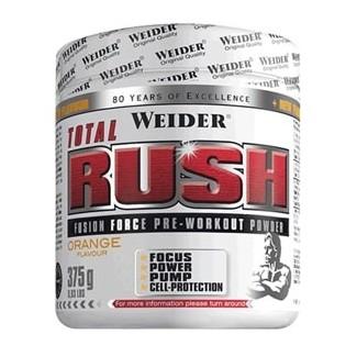 Comprar Pre-Entrenos WEIDER - TOTAL RUSH - 375 GR marca Weider. Precio 32,99€
