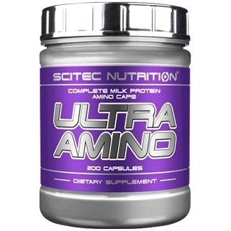 Comprar Aminoácidos Esenciales SCITEC - ULTRA AMINO 200 CAPS marca Scitec Nutrition. Precio 10,82€