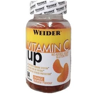 Comprar Vitaminas WEIDER - VITAMIN C UP GOMINOLAS - 84 GOMINOLAS marca Weider. Precio 7,19€