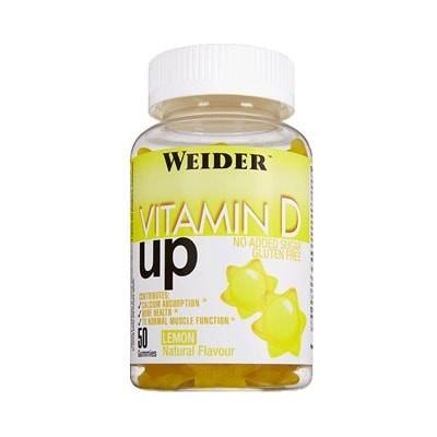 Comprar Vitaminas WEIDER - VITAMIN D UP 50 GOMINOLAS marca Weider. Precio 9,90€
