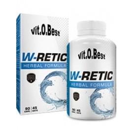 Comprar Diuréticos VITOBEST - W-RETIC 90 CAPS marca VitOBest. Precio 17,90€
