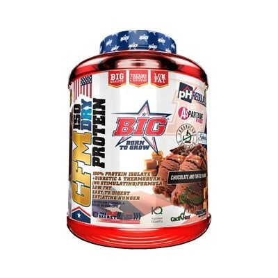 Comprar Aislado de Proteína BIG - CFM ISO DRY 1.8 KG marca Big. Precio 72,45€