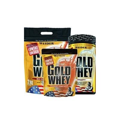 Comprar Concentrado de Suero WEIDER - GOLD WHEY 2 KG marca Weider. Precio 56,49€