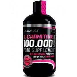 Comprar Reductores Sin Estimulantes BIOTECHUSA - L CARNITINE 100.000 LIQUID 500 ML marca BioTechUSA. Precio 24,21€