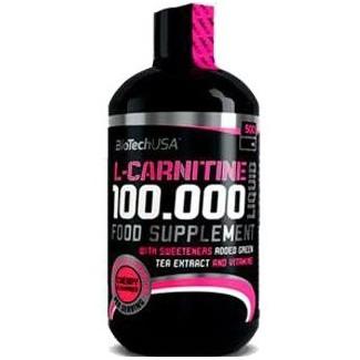Comprar Reductores Sin Estimulantes BIOTECHUSA - L CARNITINE 100.000 LIQUID 500 ML marca BioTechUSA. Precio 25,00€
