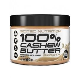 Comprar Cremas y Mantequillas SCITEC - 100% CASHEW BUTTER - MANTEQUILLA DE ANACARDOS marca Scitec Nutrition. Precio 11,55€