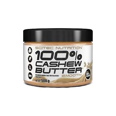 Comprar Cremas y Mantequillas SCITEC - 100% CASHEW BUTTER - MANTEQUILLA DE ANACARDOS 500 GR marca Scitec Nutrition. Precio 11...