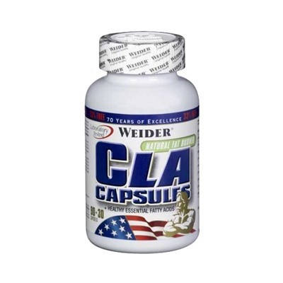 Comprar Reductores Sin Estimulantes WEIDER - CLA - 120 CAPS marca Weider. Precio 29,99€