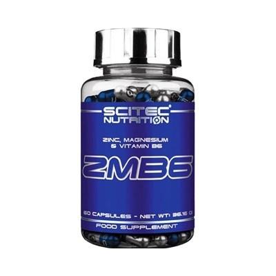 Comprar Vitaminas SCITEC - ZMB6 - MAGNESIO + ZINC + VIT B6 60 CAPS marca Scitec Nutrition. Precio 7,96€