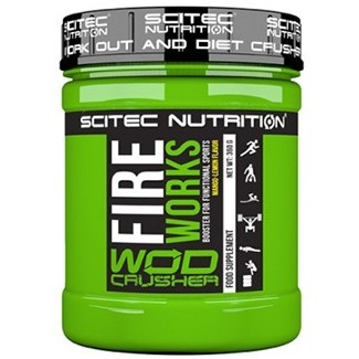 Comprar Pre-Entrenos SCITEC - WOD CRUSHER - FIRE WORKS - PRE-ENTRENO 300 GR marca Scitec Nutrition. Precio 17,99€