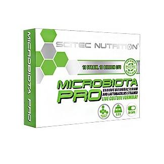 Comprar Vitaminas Minerales y Antioxidantes SCITEC - GREEN SERIES - MICROBIOTA PRO 30 CAPS marca Scitec Nutrition. Precio 10,...