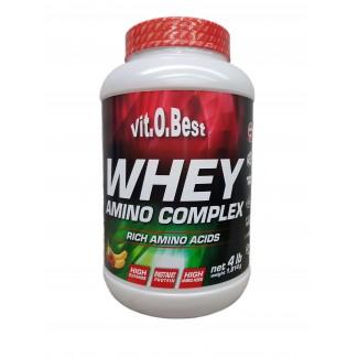 Comprar Concentrado de Suero VITOBEST - WHEY AMINO COMPLEX 1.8 KG marca VitOBest. Precio 36,90€