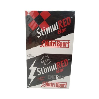 Comprar Barritas Energéticas NUTRISPORT - BARRITAS STIMUL RED 24 BARRITAS * 40 GR marca NutriSport. Precio 30,10€