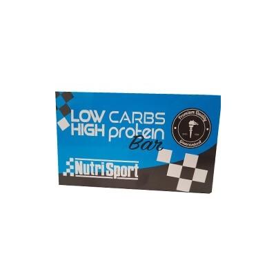 Comprar Barritas de Proteína NUTRISPORT - BARRITAS LOW CARBS HIGH PROTEIN 16 BARRITAS * 60 GR marca NutriSport. Precio 28,90€