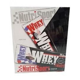 Comprar Barritas de Proteína NUTRISPORT - WHEY BAR marca NutriSport. Precio 30,90€