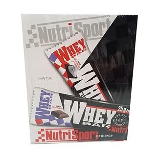 Comprar Barritas de Proteína NUTRISPORT - WHEY BAR 12 BARRITAS * 80 GR marca NutriSport. Precio 30,00€