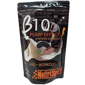 Comprar Pre-Entrenos NUTRISPORT - B10 PUMP EFFECT - PRE WORKOUT 400 GR marca NutriSport. Precio 20,93€