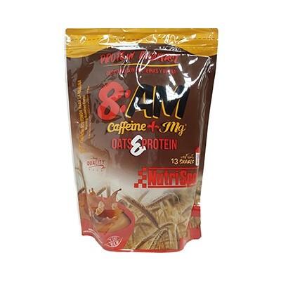 Comprar Concentrado de Suero NUTRISPORT - 8AM PROTEIN BREAKFAST + CAFEÍNA 650 GR marca NutriSport. Precio 18,53€