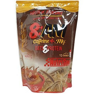 Comprar Concentrado de Suero NUTRISPORT - 8AM PROTEIN BREAKFAST + CAFEÍNA 650 GR marca NutriSport. Precio 16,68€