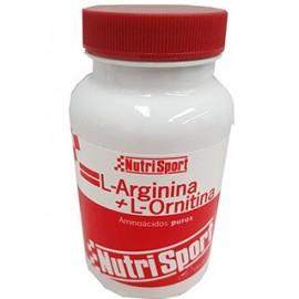 Comprar Aminoácidos Esenciales NUTRISPORT - L-ARGININA + L-ORNITINA marca NutriSport. Precio 23,44€