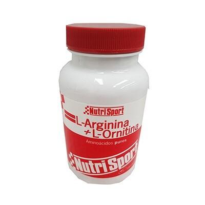 Comprar Aminoácidos Esenciales NUTRISPORT - L-ARGININA + L-ORNITINA 100 CAPS marca NutriSport. Precio 23,44€