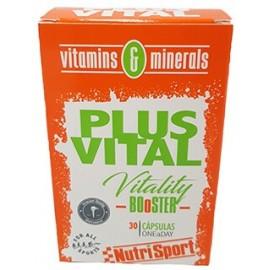Comprar Vitaminas Minerales y Antioxidantes NUTRISPORT - PLUSVITAL marca NutriSport. Precio 6,65€
