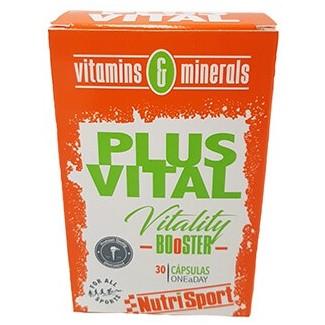 Comprar Vitaminas NUTRISPORT - PLUSVITAL 30 CAPS marca NutriSport. Precio 6,65€