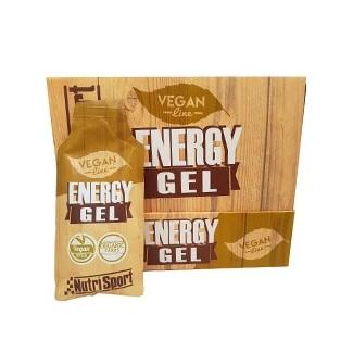 Comprar Geles Energéticos NUTRISPORT - VEGAN ENERGY GEL 18 GELES * 40 GR marca NutriSport. Precio 27,36€