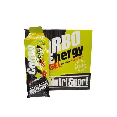 Comprar Geles Energéticos NUTRISPORT - CARBO ENERGY GEL 18 GELES * 66 GR marca NutriSport. Precio 34,20€