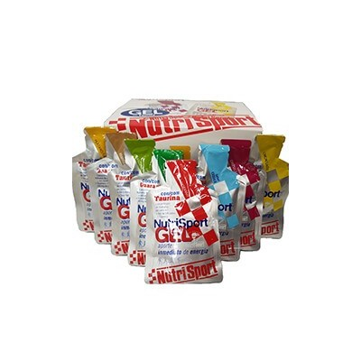 Comprar Geles Energéticos NUTRISPORT - GEL TAURINA 24 GELES * 40 GR marca NutriSport. Precio 40,80€