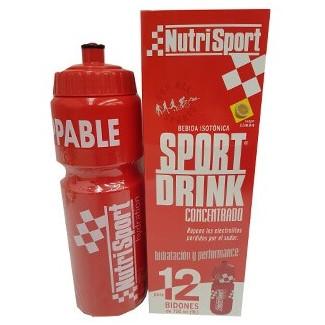 Comprar Isotónicos y Sales NUTRISPORT - SPORT DRINK CONCENTRADO 12 GELES * 41 ML marca NutriSport. Precio 18,29€
