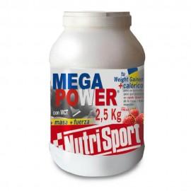 Comprar Hidratos de Carbono NUTRISPORT - MEGA POWER 2.5 marca NutriSport. Precio 42,75€